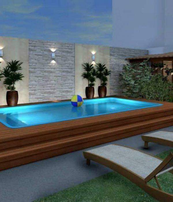 Konverto interiores + arquitetura modern pool _ homify